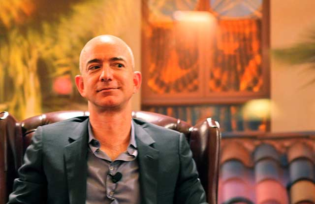 Jeff Bezos, fundador de Amazon.  Foto: Steve Jurvetson.