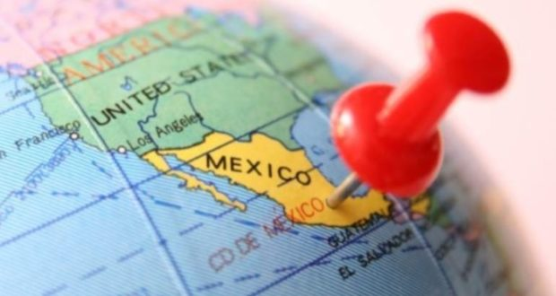 Riesgo país México por JP Morgan hoy lunes 22 de octubre de 2018.