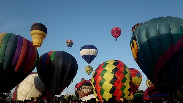 Esta ocasión un globo de 50 metros de altura con figura del Cristo Redentor de Río de Janeiro volará por los cielos de León. (Foto: flickr Martha Silva, FIG 2012).
