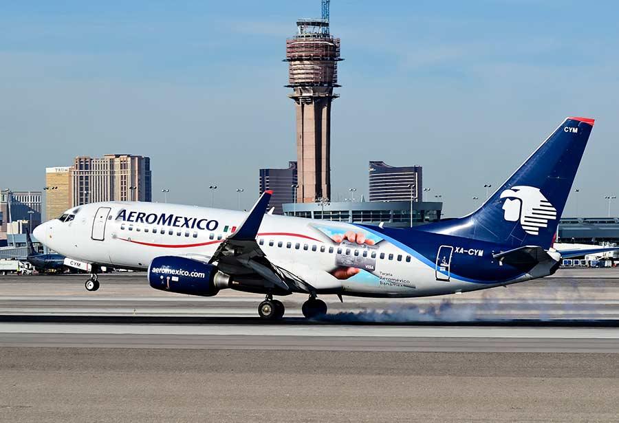 Aeroméxico ha tenido un año difícil debido a los altos precios del combustible, la fortaleza del dolar y la inflación (Foto: Tomás Del Coro)