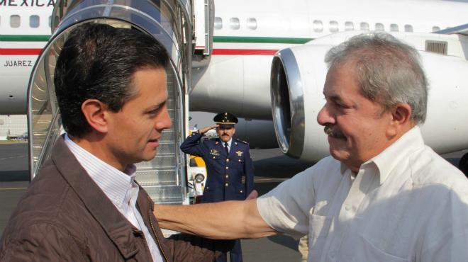 Peña Nieto y Lula