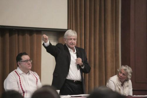 Andrés Manuel López Obrador se reunió el 11 de agosto con los virtuales delegados regionales y estatales
