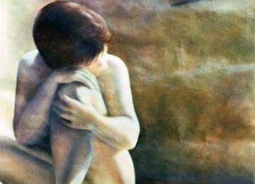 Pintura al óleo por Jackie Tice.