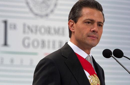El presidente Enrique Peña Nieto en su Primer Informe de Gobierno, 2013 (Wikipedia)