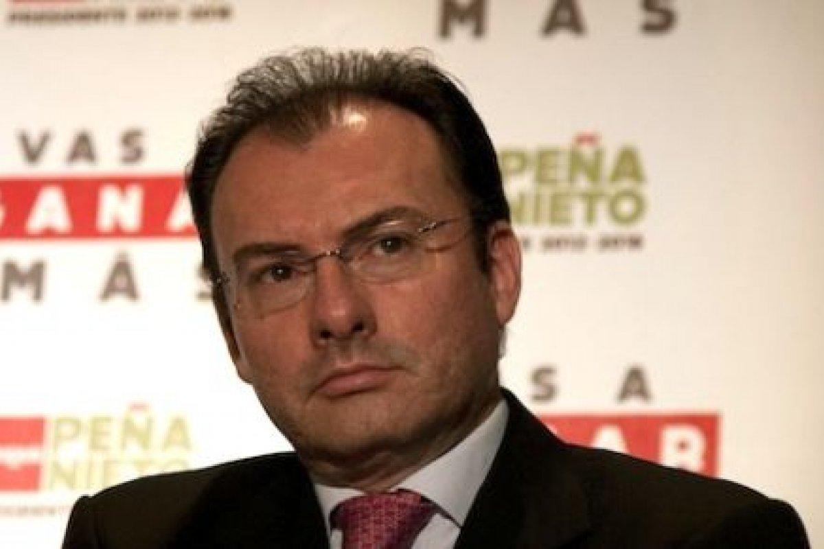 Luis Videgaray Caso, titular de Hacienda.