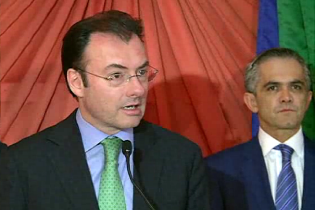 Anuncian Hacienda y GDF ir de la mano en favor de la reforma fiscal.