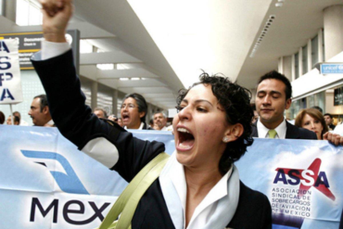 Ni en la Secretaría del Trabajo, ni en la Secretaría de Hacienda tienen la decisión sobre las pensiones de Mexicana.