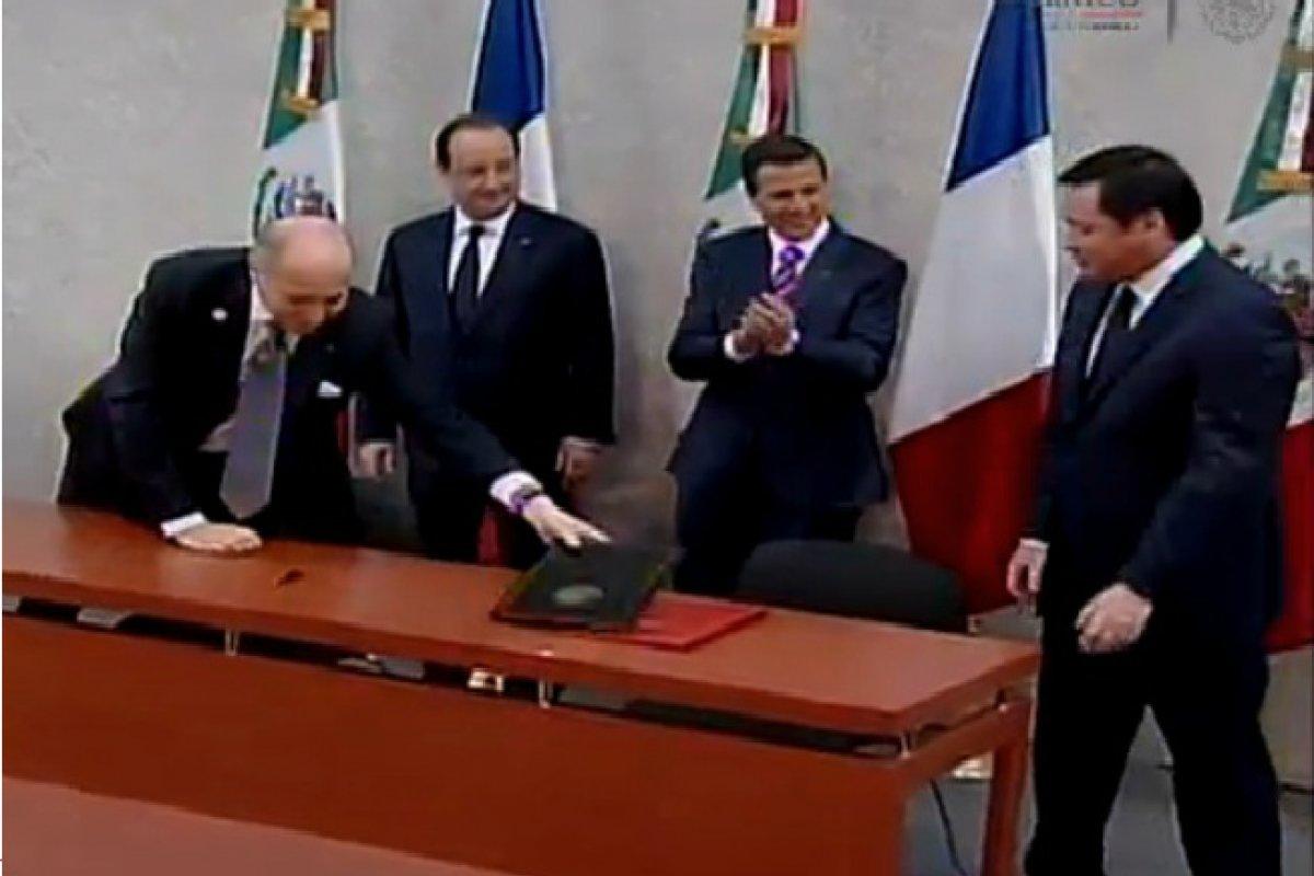 Se firmó un memorandum de entendimiento entre Pemex y la firma de energía francesa GDF Suez.