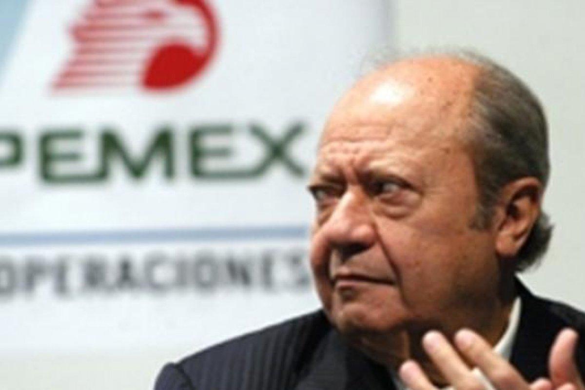 Carlos Romero Deschamps, líder del Sindicato de Trabajadores Petroleros de la República Mexicana.