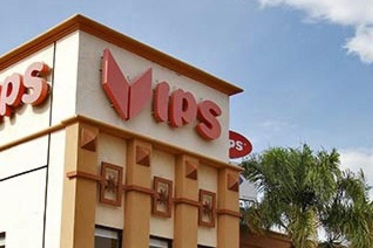 En 2013, las ventas de VIPS alcanzaron 6,124 millones de pesos que representan 39% de las ventas de Alsea.