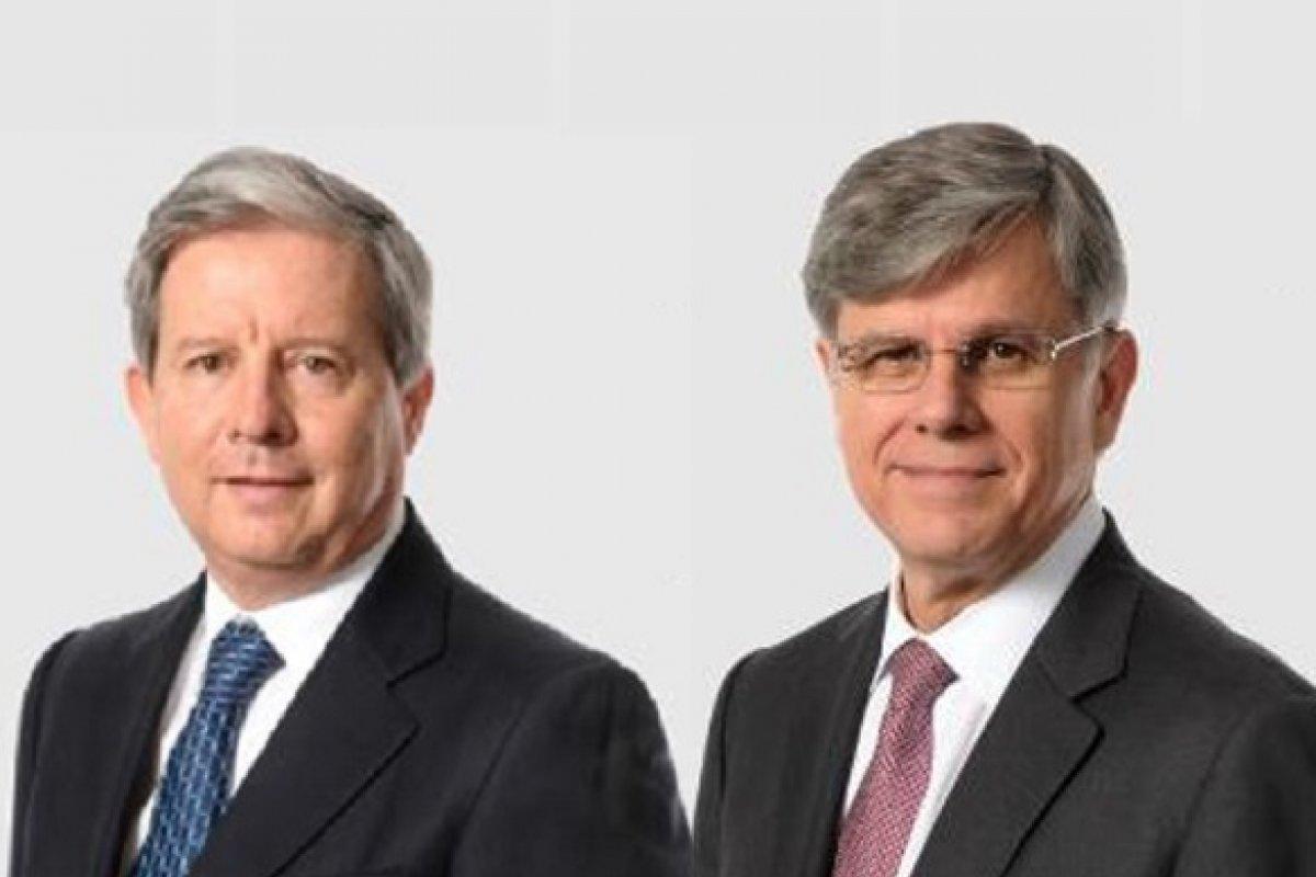Rogelio Zambrano y Fernando González, nuevos presidente y director general, respectivamente, de Cemex.
