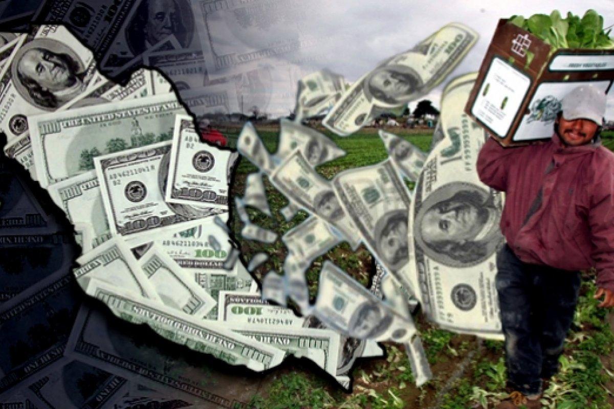 Para el 2015 se preveé que las remesas alcancen los 24 mil 360 millones de dólares.