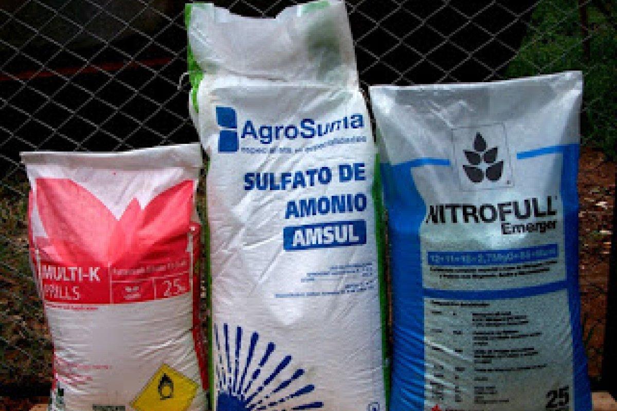 Los productos provenientes de Estados Unidos y China representan 47% y 26% de las importaciones totales del fertilizante.