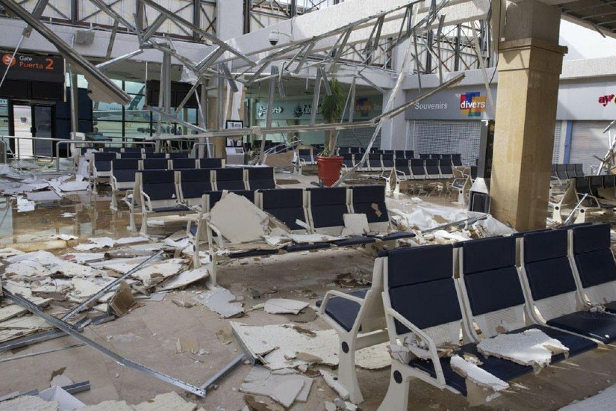 A pesar de que GAP no informó una cifra sobre las afectaciones del huracán Odile en Los Cabos, su reporte destaca que el fenómeno natural influyó negativamente.