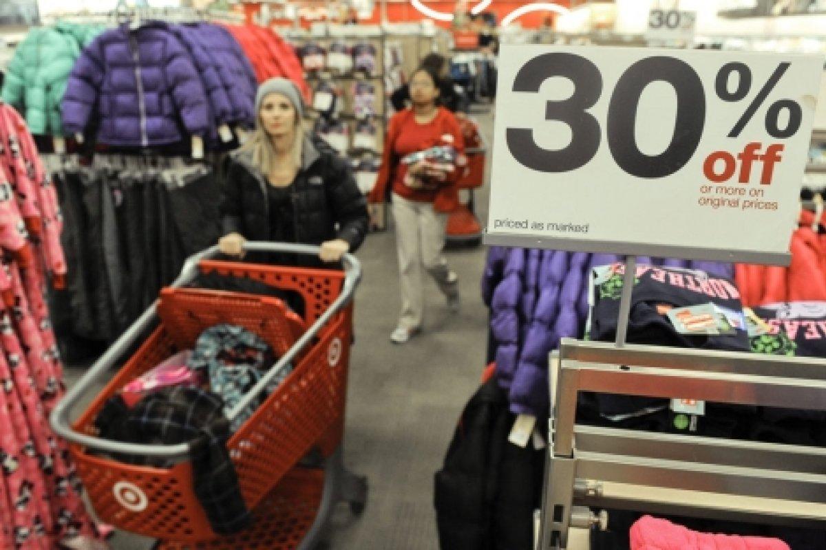 La venta de ropa creció medio punto porcentual en octubre respecto de septiembre.