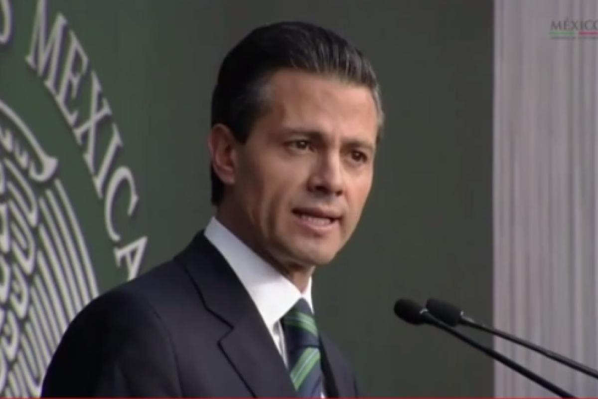 El presidente Enrique Peña Nieto anunció un amplio catálogo de acciones para recuperar la legalidad y sacar del atraso al sur del país.