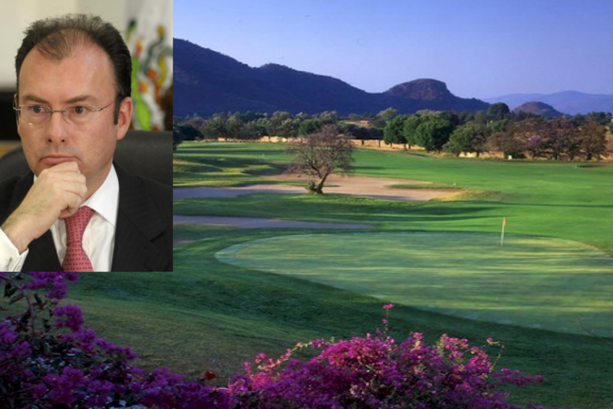 La casa por un valor de 7.5 millones de pesos se ubica en un exclusivo Club de Golf en el municipio de  Malinalco, Estado de México. No hay conflicto de interés, asegura el secretario de Hacienda.