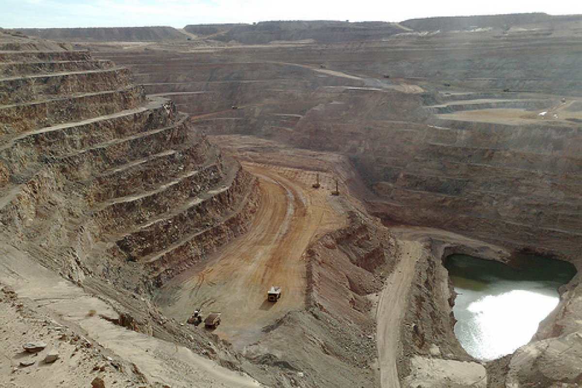 La empresa minera informó que la producción de oro para el año fue impactada porque su yacimiento La Herradura detuvo sus actividades hasta marzo del 2014 por la prohibición del uso de explosivos