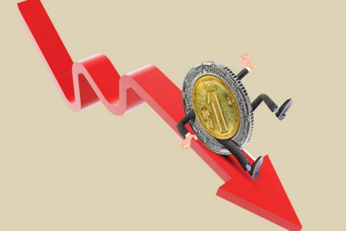 el peso ha estado estableciendo nuevos mínimos históricos en los últimos días, muy cerca de una paridad de 16 pesos por dólar