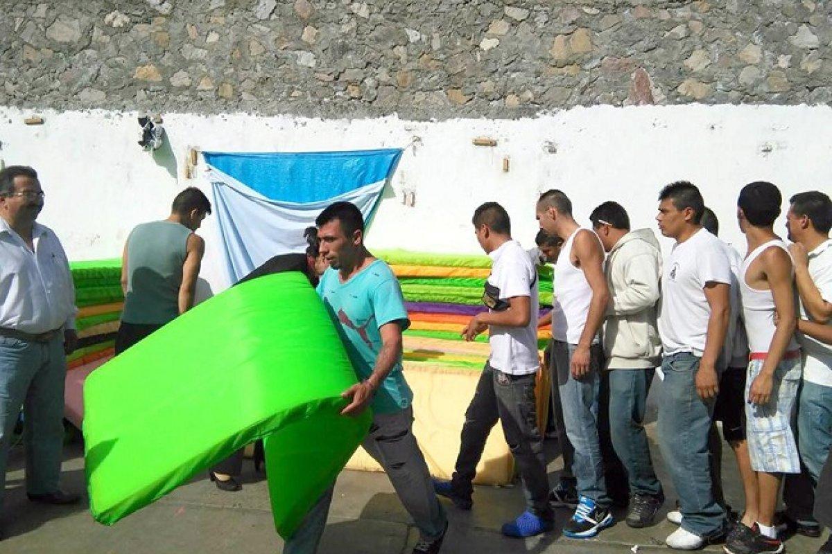 La cárcel distrital de Tizayuca, Hidalgo, sufre de sobrepoblación y hacinamiento.