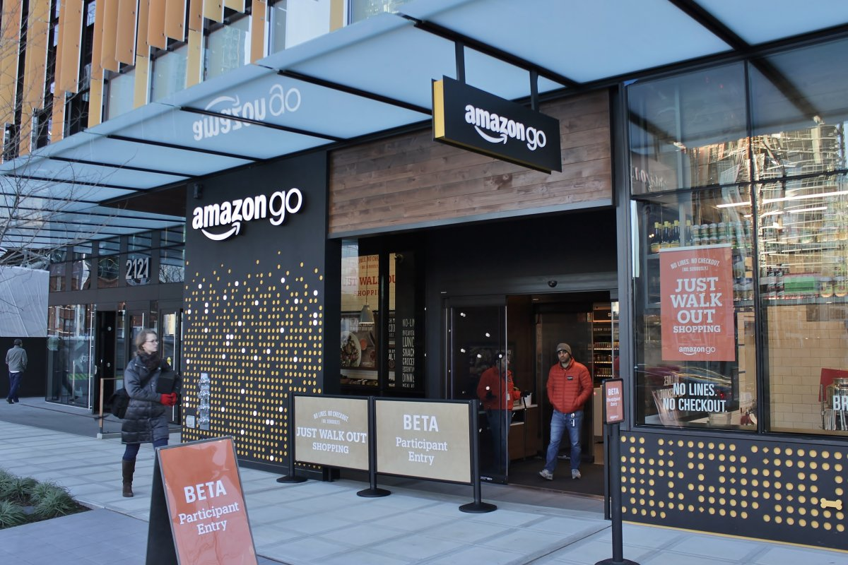 Amazon Go, es la primera tienda sin cajeros. Foto: wikicommons
