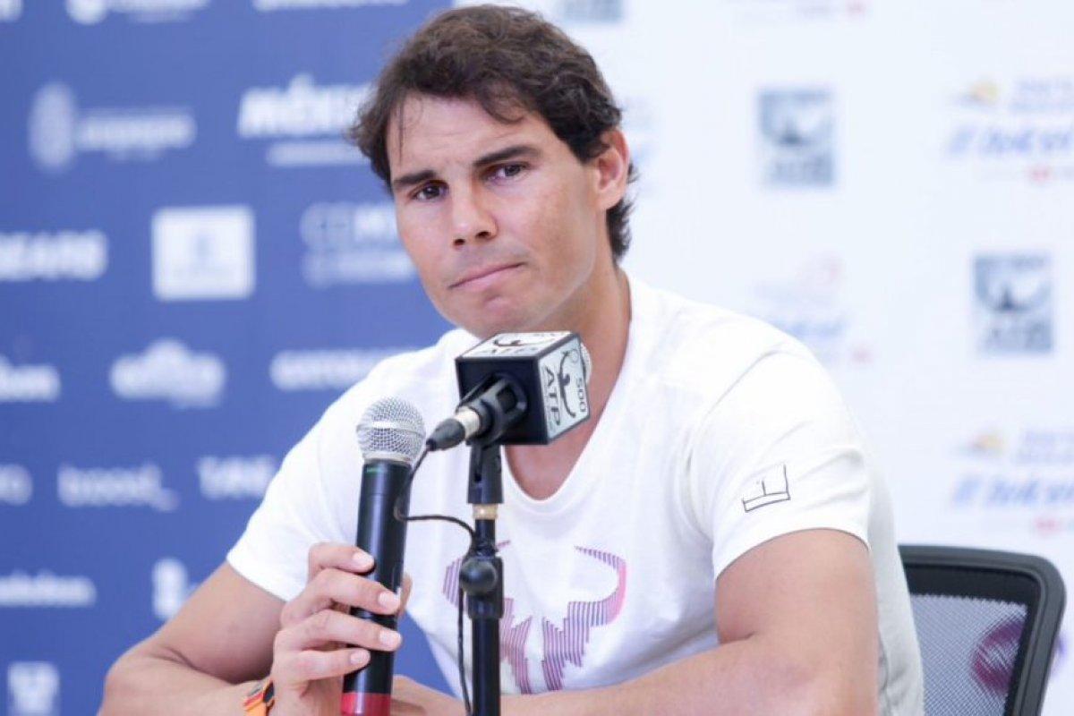 Rafael Nadal se dio de baja del Abierto Mexicano de Tenis por lesión que también lo hizo abandonar el Abierto de Australia.