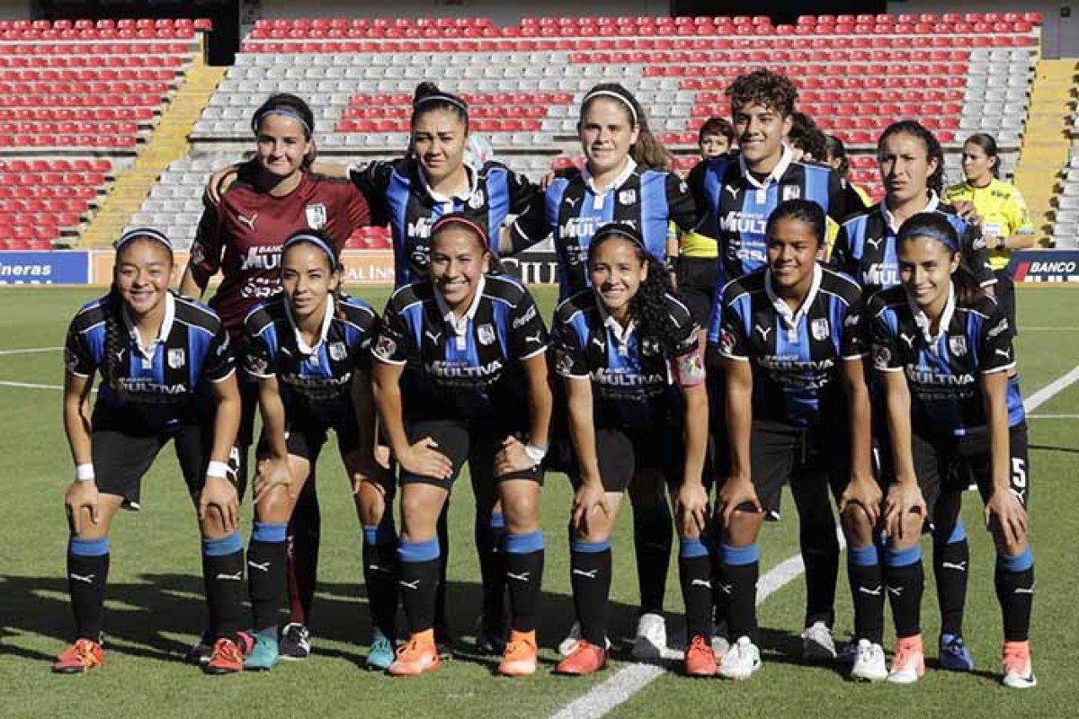 Querétaro. Foto: Querétaro/Liga Mx Femenil