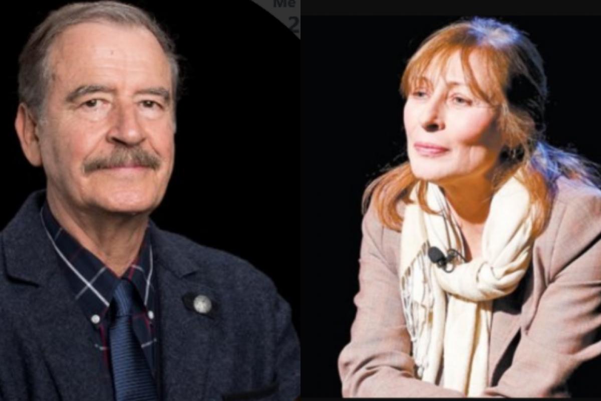 Vicente Fox escribió mal el nombre de Clouthier lo que le valió burlas de la coordinadora de campaña de AMLO. Fotos: Twitter