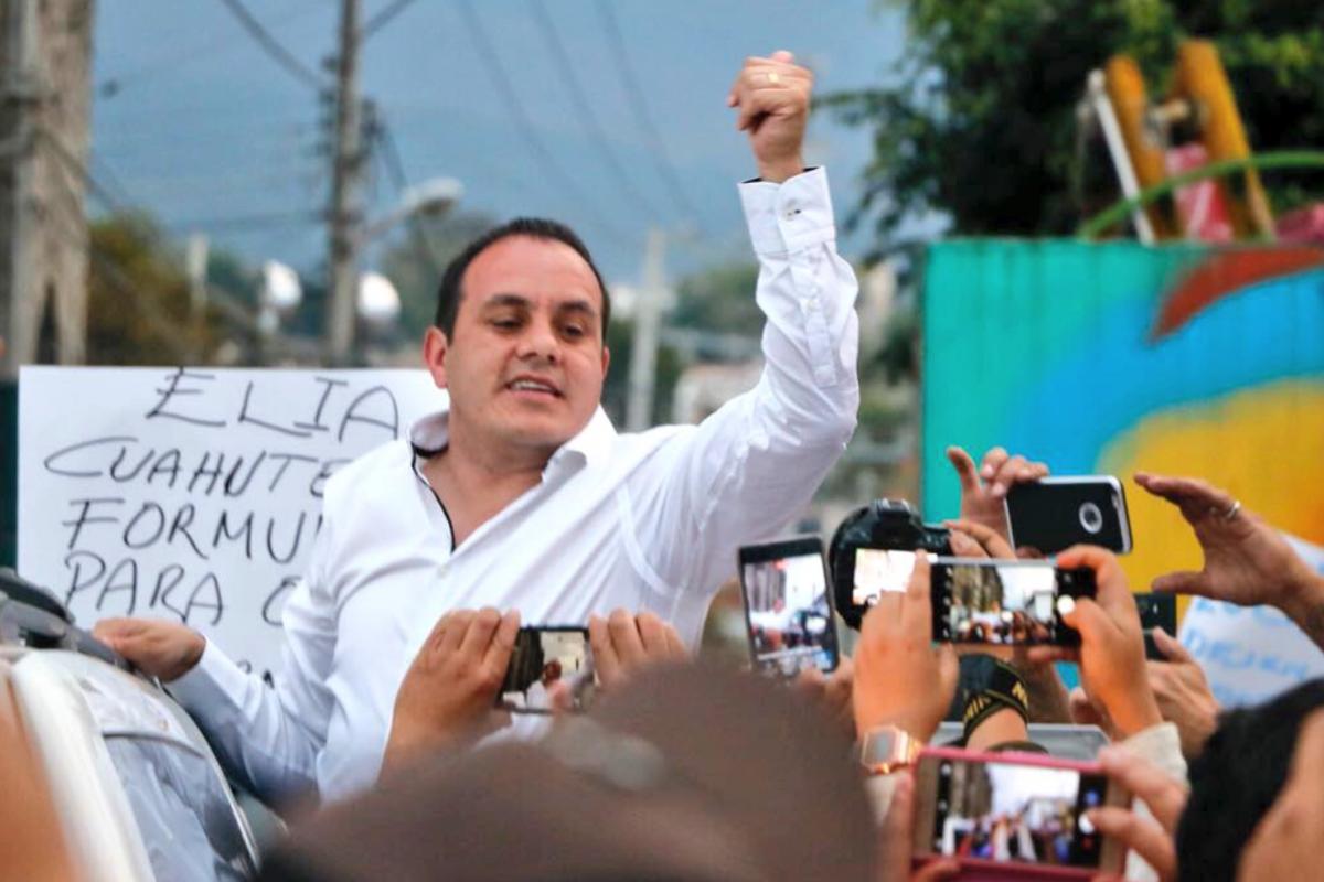 Cuauhtémoc Blanco pudo haer obtenido 7 millones de pesos para ser candidato a edil por PSD. Foto: Twitter