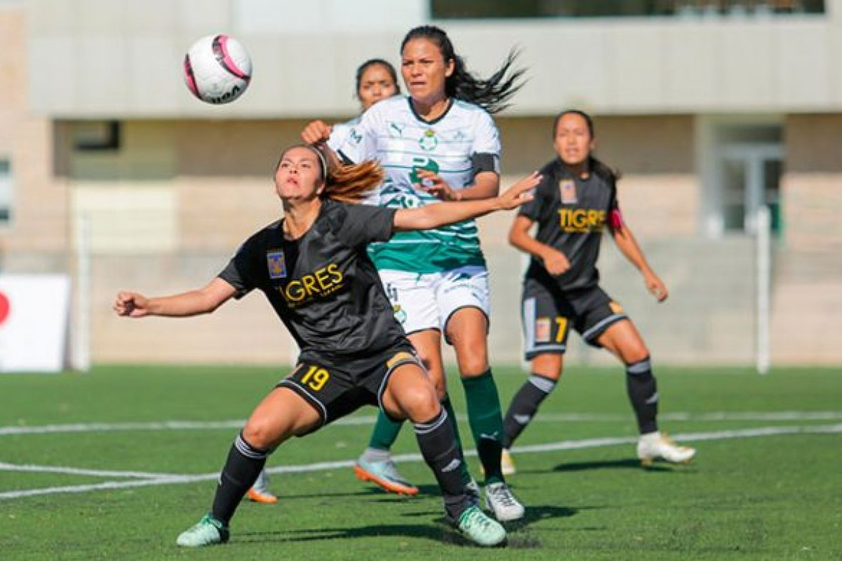 Tigres vs Santos femenil