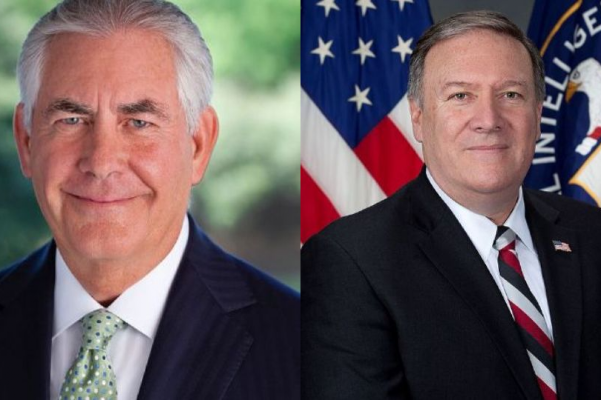 El ex secretario de estado Rex Tillerson fue CEO de Exxon Mobile, sin embargo no había ocupado un cargo público. Fotos: wikicommons