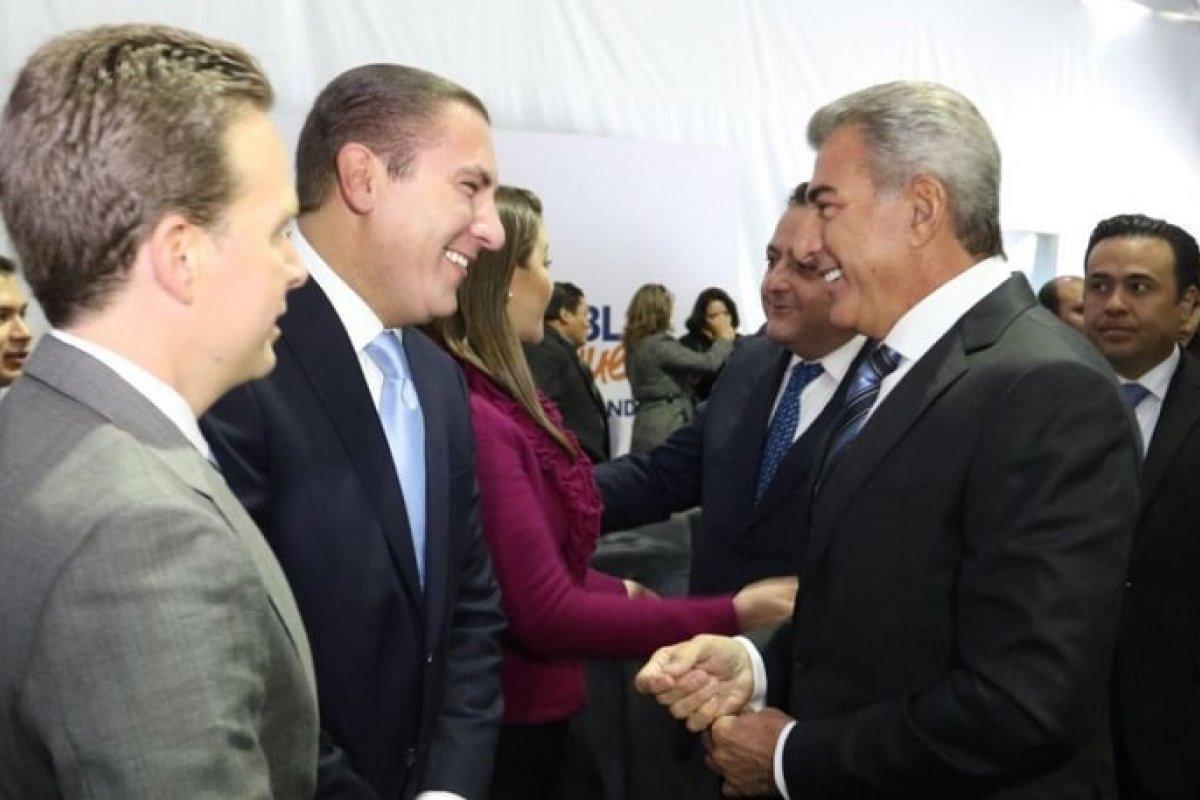 Moreno Valle y Gali Fayad, ambos gobernadores del PAN han estado al mando de Puebla los últimos siete años.