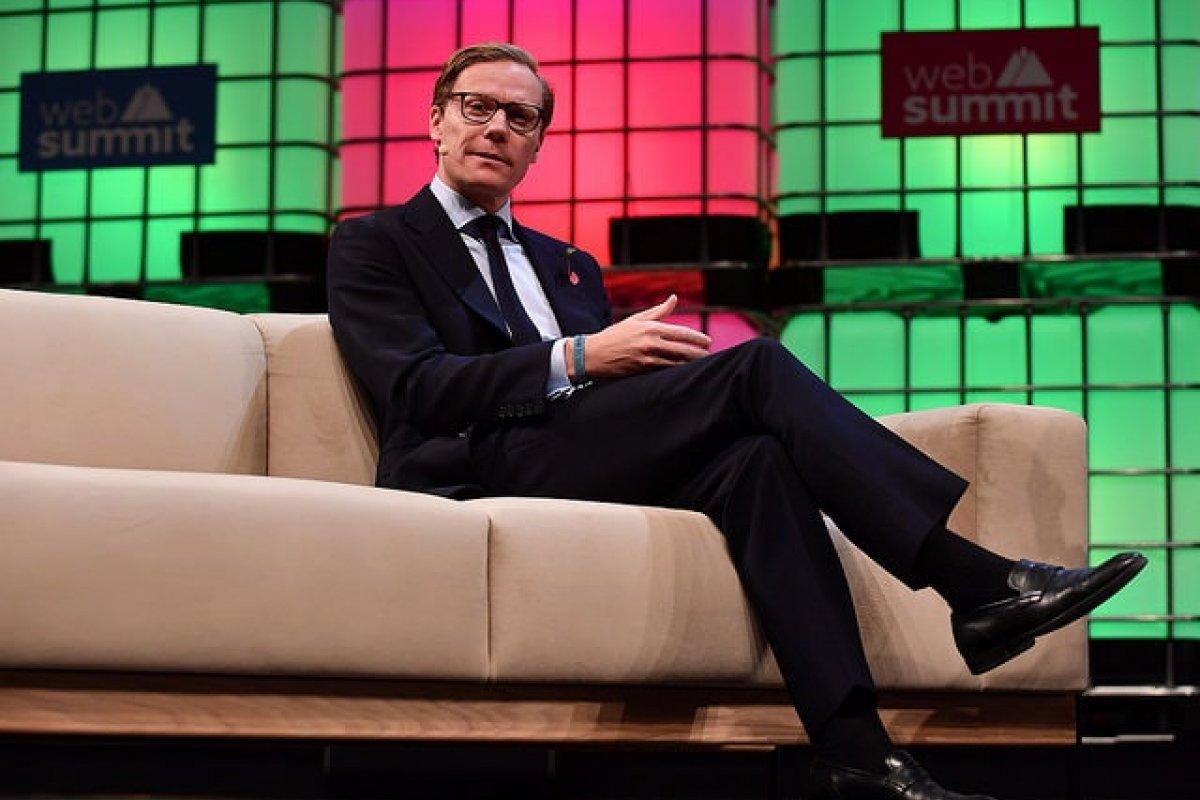 A raíz del escándalo Alexander Nix, CEO de Cambridge Analytica fue cesado de su puesto. Foto: Sam Barnes/Web Summit
