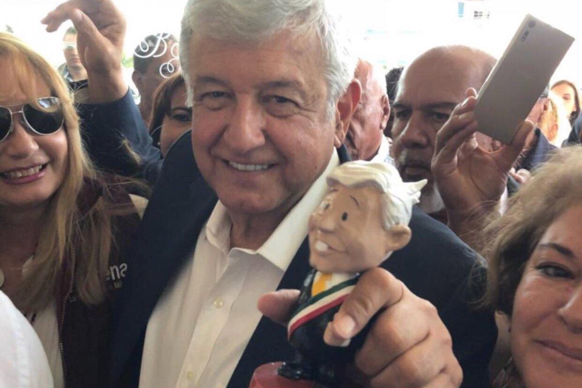 Foto: Andrés Manuel López Obrador / Twitter @lopezobrador_