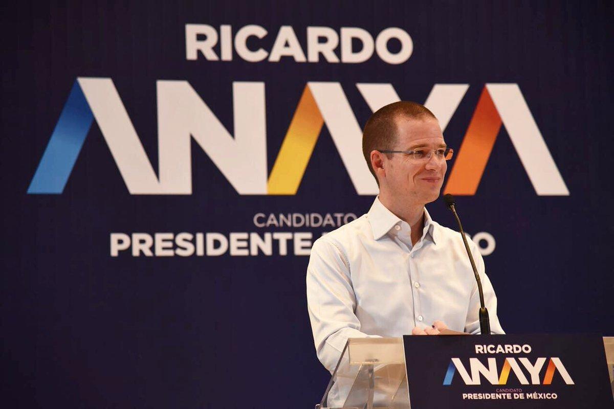 Foto: Ricardo Anaya / Twitter @RicardoAnayaC