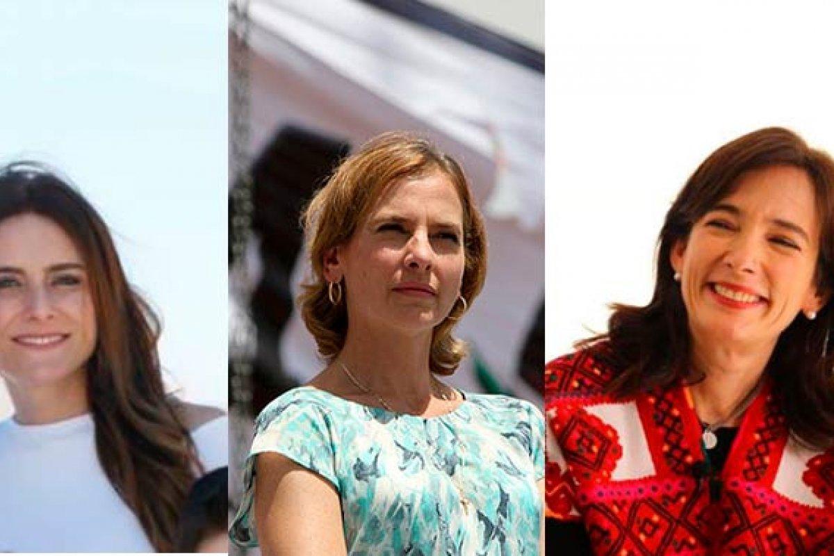 Las parejas de los candidatos también se hacen presente en la campaña presidencial.