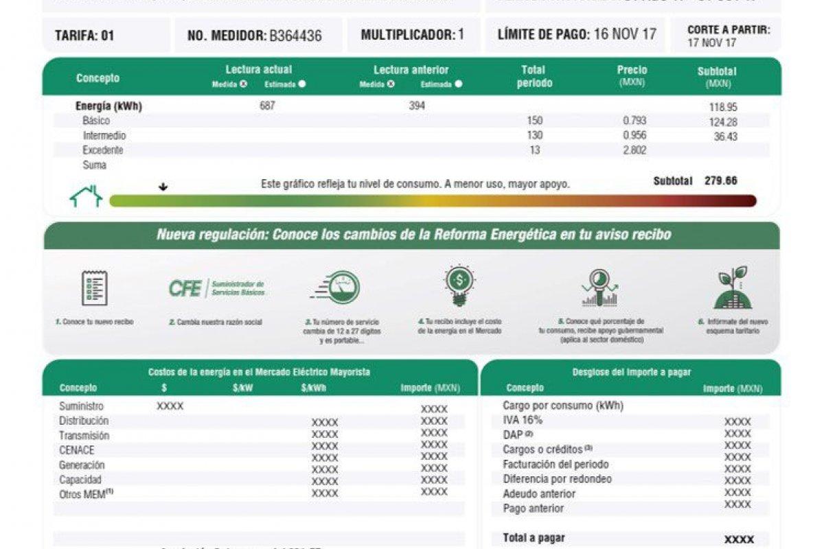 'CFE contigo',donde se podrá consultar el consumo de energía eléctrica y realización de pago de manera remota.