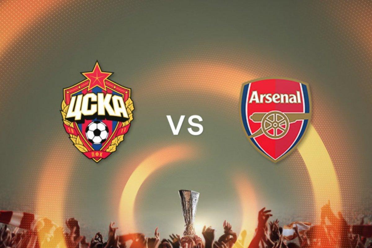 Foto: CKSA Moscú vs Arsenal / Twitter @PFCCSKA_