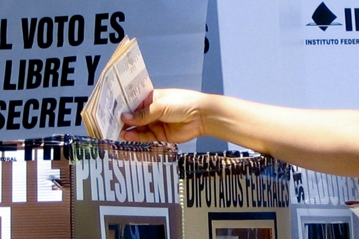 Casilla electoral/ Fuente: Flickr