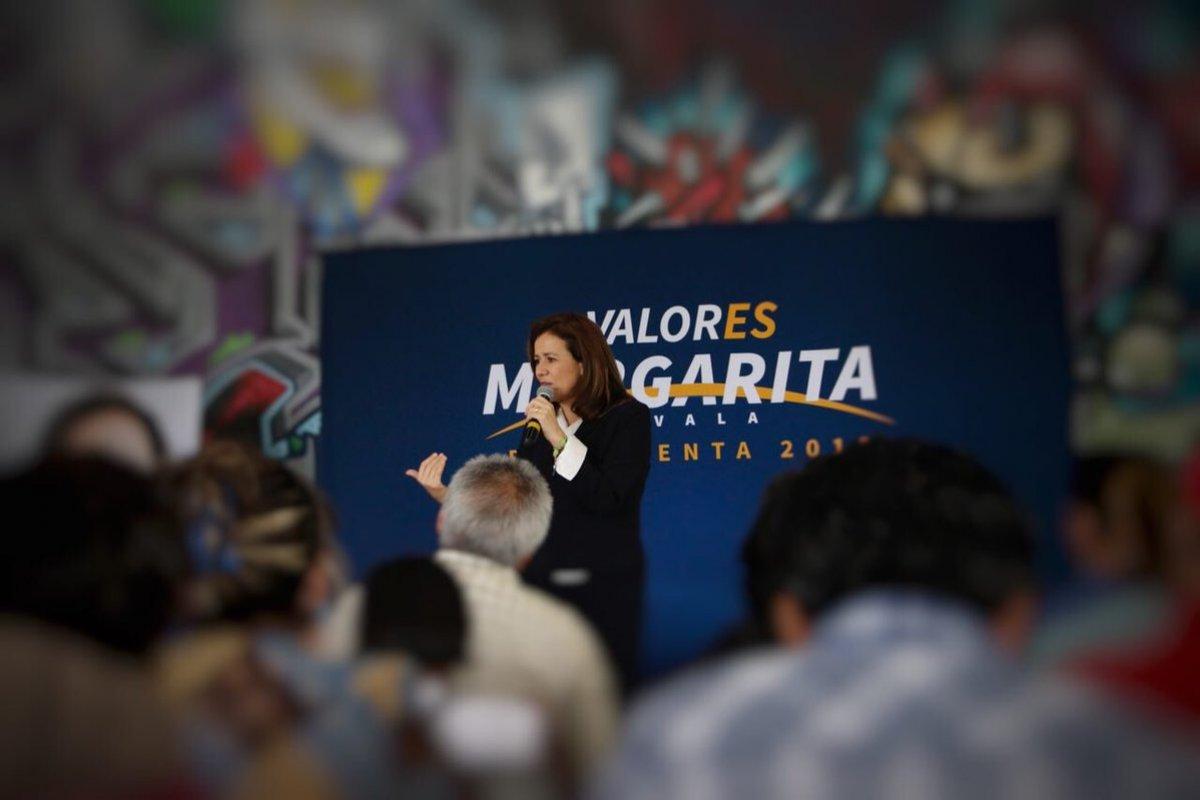 Margarita Zavala/Fuente: Twitter