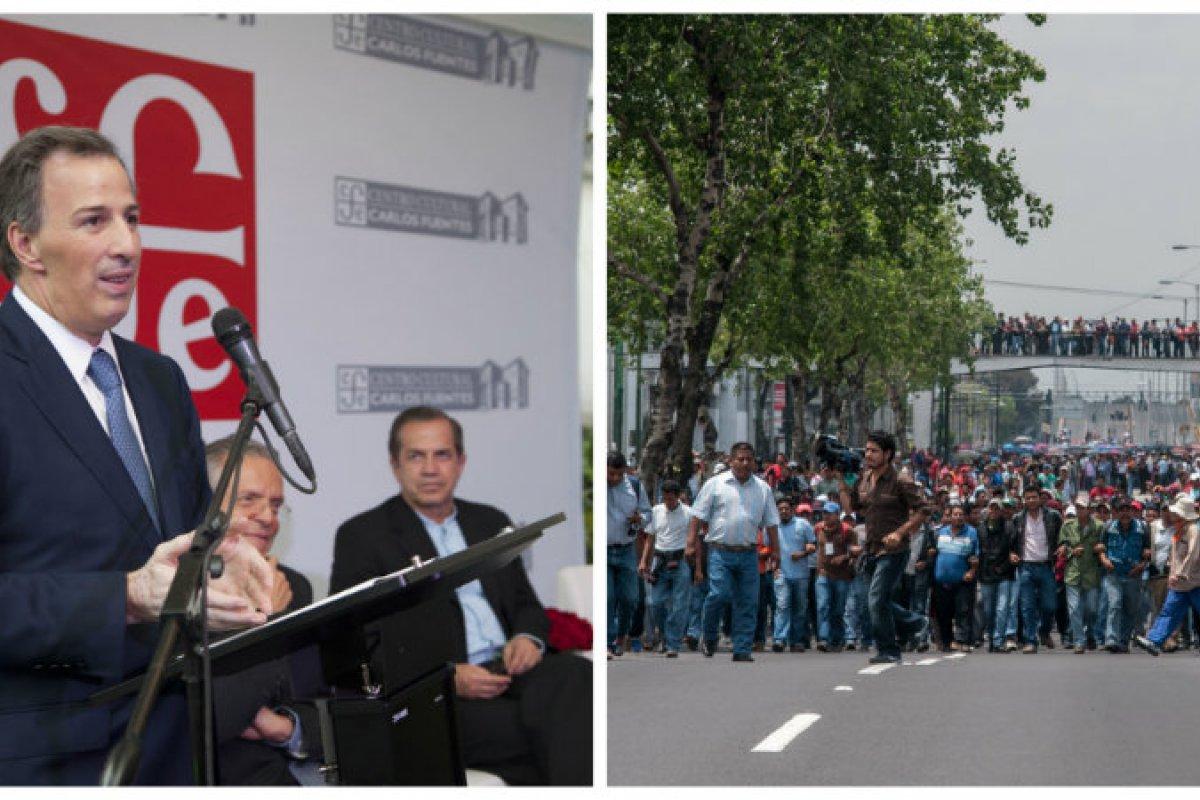 Meade y la CNTE/Fuente: Flickr