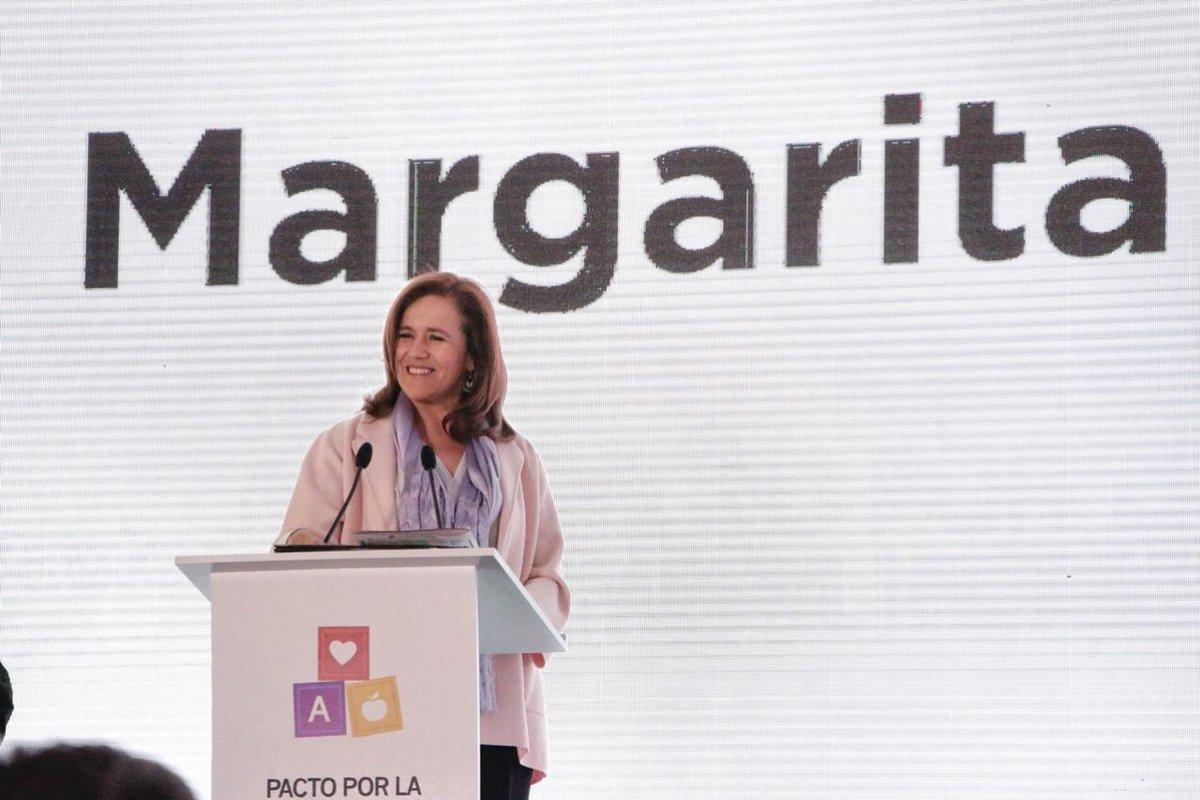 Margarita Zavala/Fuente: Twitter @Mzavalagc