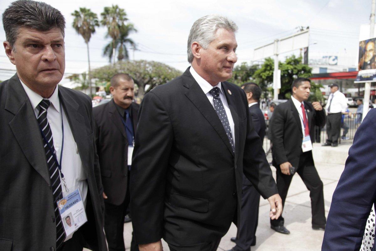 Miguel Díaz-Canel fue el candidato único para la presidencia de Cuba (Foto: Presidencia de El Salvador)