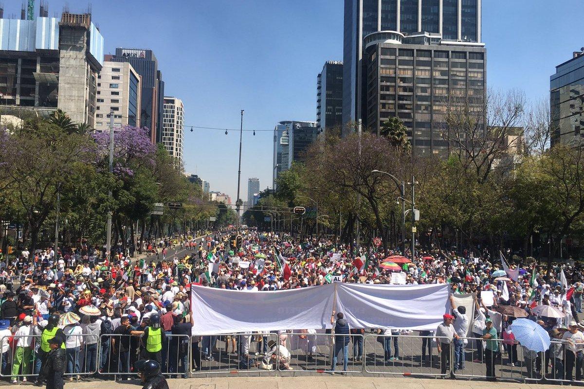 manifestaciones hoy cdmx