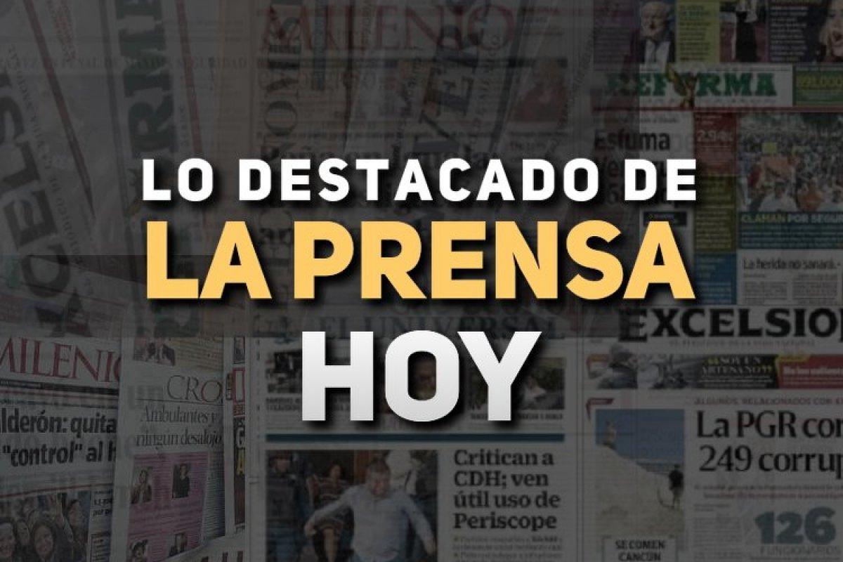 Arena Pública trae para ti las noticias de México hoy 8 de mayo.