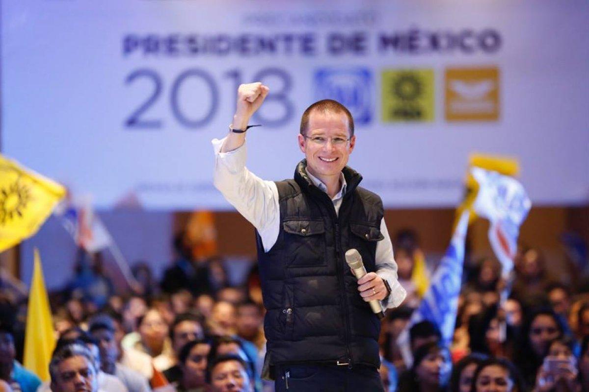 Ricardo Anaya/ Fuente: Facebook @RiardoAnayaC