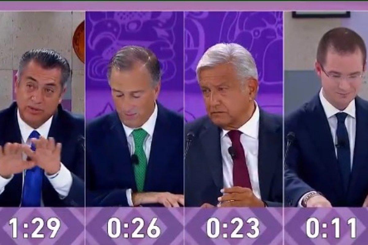 El tercer debate presidencial fue el último antes de las elecciones del 1 de julio de 2018