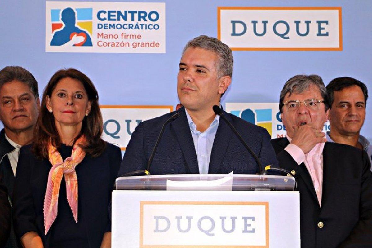 Iván Duque es el nuevo presidente de Colombia.
