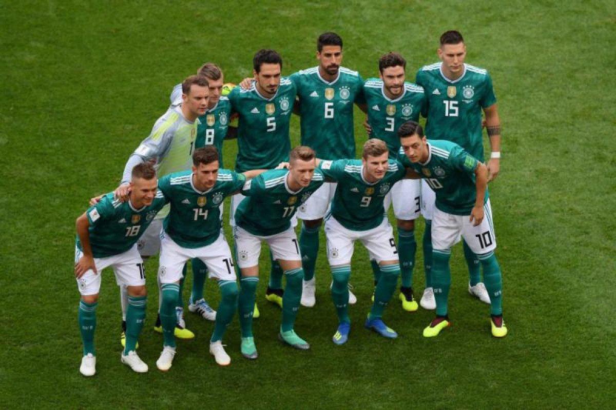 Selección alemana Rusia 2018 Foto: @DFB_Team