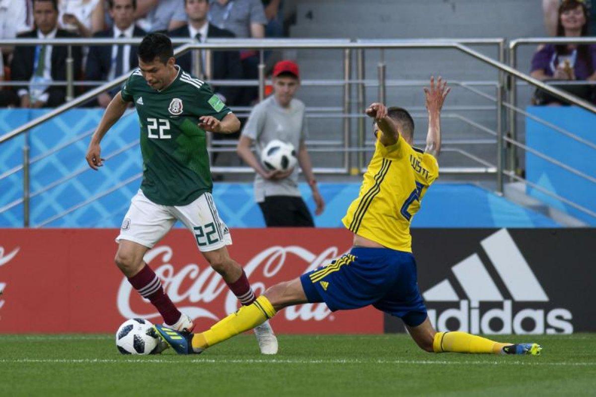 México contra Suecia Rusia 2018 Foto: @miselecciónmx